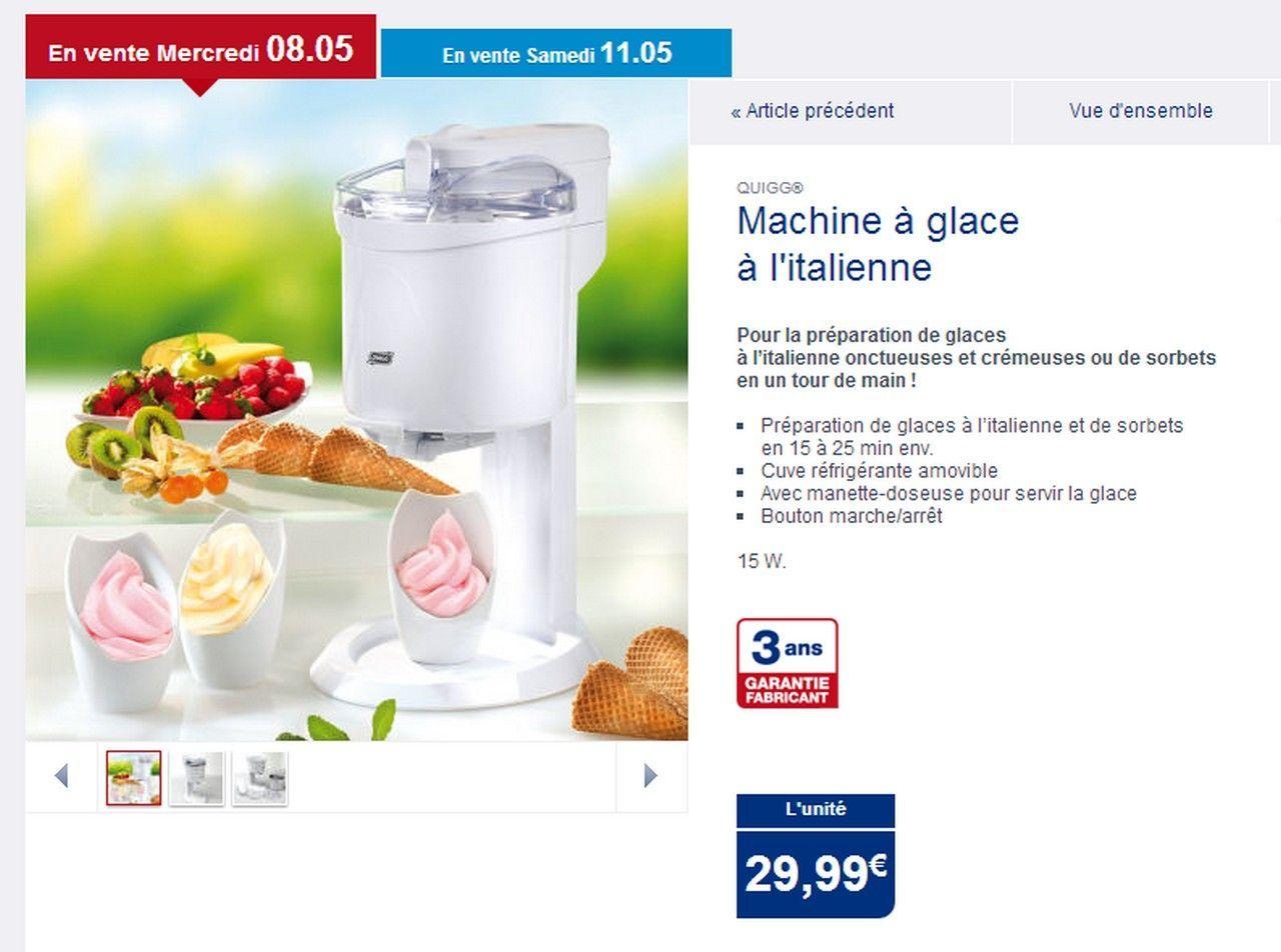Glace a l 39 italienne - Machine glace italienne pour maison ...